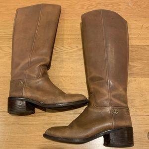 Tory Burch Tan Boots